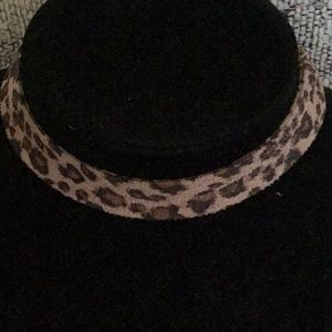 Jewelry - LEOPARD PRINT SOFT FABRIC CHOKER NECKLACE